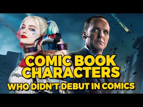 Comic Book Characters Who Didn