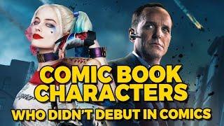 Personajes de cómic Que no empezó en los Cómics