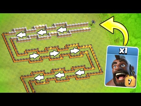 🔥 Clash Olympics 2017!! 🔥 ONE IMMORTAL TROOP vs ONE BASE! - Clash Of Clans