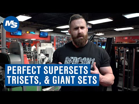 How to Use Supersets, Trisets, & Giant Sets for Muscle Growth