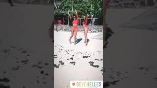 Ирина Пинчук и Таня Мусульбес дом2 веселятся на Сейшелах