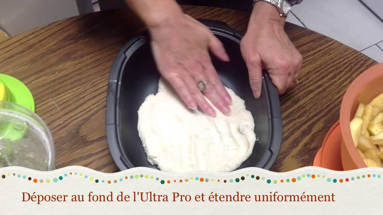 recette tupperware facile et rapide de pate a tarte et clafoutis aux pommes
