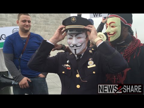 Fmr. Police Captain Ray Lewis Joins Anonymous
