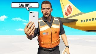 My Friend Gets Into Trouble With Airport Security.. (GTA RP)