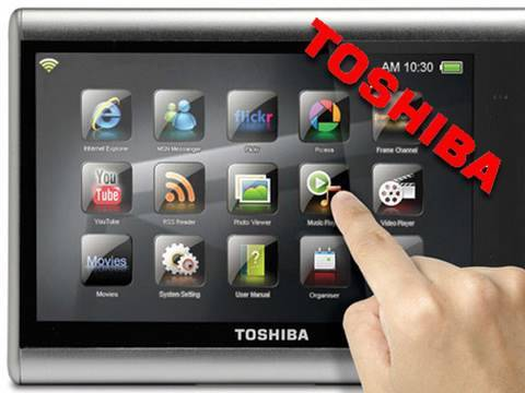 toshiba journe touch per il multimedia tvtech youtube. Black Bedroom Furniture Sets. Home Design Ideas