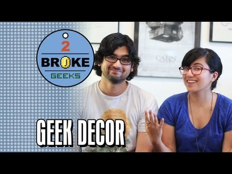 Decorate Your Room: 2 Broke Geeks