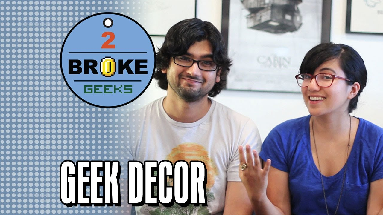 Decorate Your Room 2 Broke Geeks Youtube
