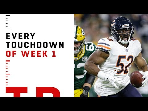 Every Touchdown from Week 1 | NFL 2018 Highlights