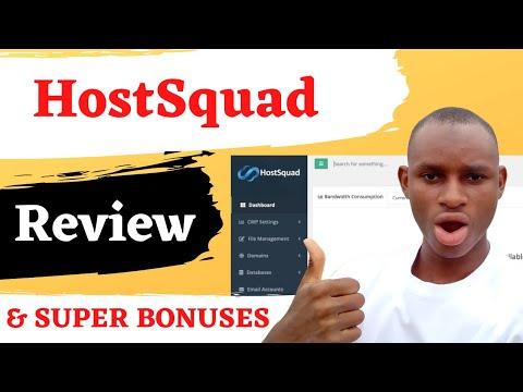 Hostsquad review