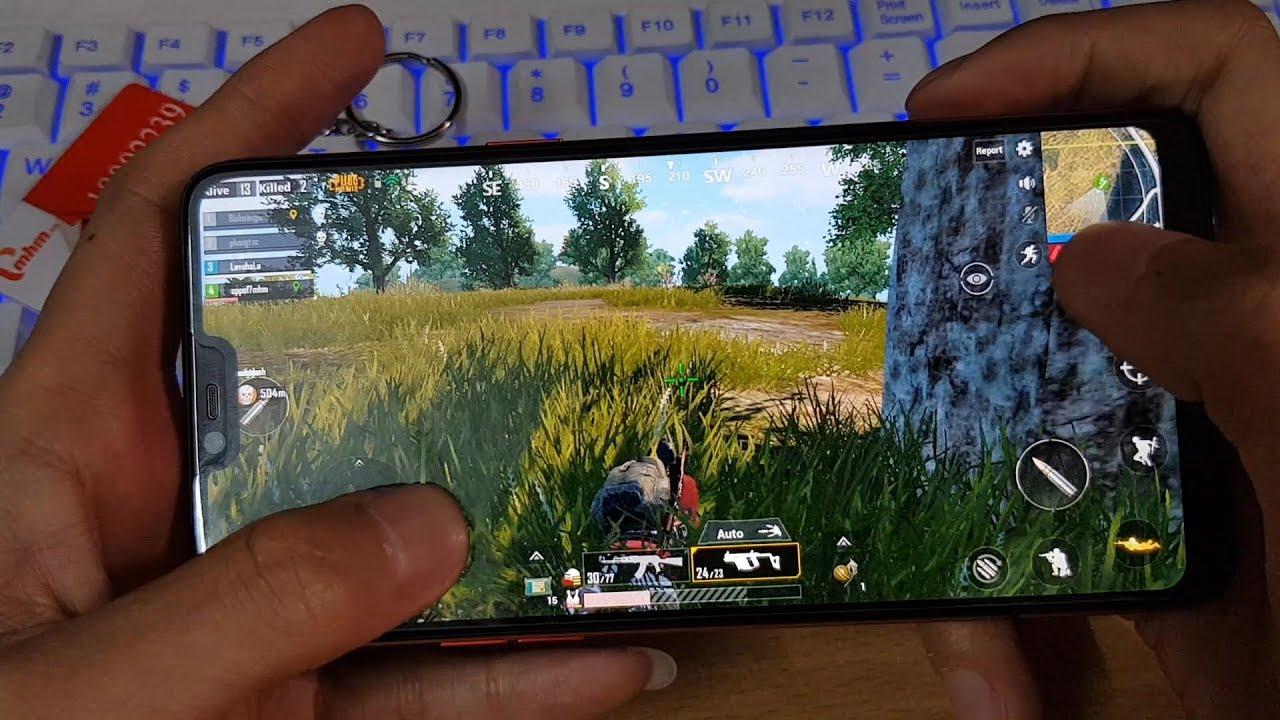 Chơi PUBG Mobile Trên OPPO F7 Maxsetting, Thời Lượng Pin
