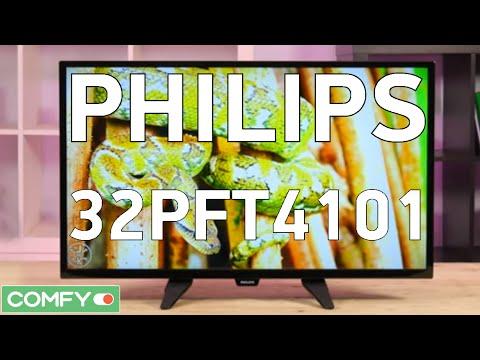 Philips 32PFT4101 - плоскопанельный телевизор c Full HD разрешением - Видео демонстрация
