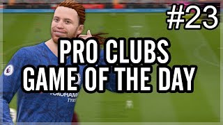 The Craziest Own Goal... | FIFA 20 Pro Clubs | Game of the Day #23 / Видео
