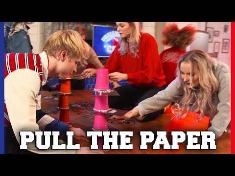 TRILLENDE HANDJES BIJ PULL THE PAPER CHALLENGE | Free-for-all-Friday | Challenges Cup #39