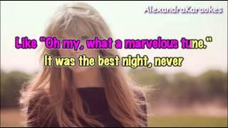 Taylor Swift - Starlight ( Karaoke/Instrumental )