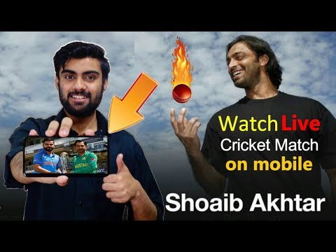 How To Watch Live Cricket Match + All TV Channels On Mobile
