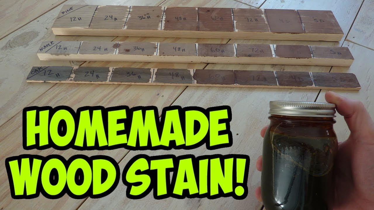 Diy Wood Stain From Paint
