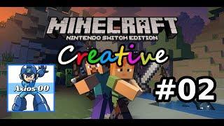 Minecraft Creative: Nintendo Switch Edition (Switch): Ep #2 - Megaman - Gameplay Ita