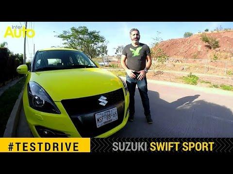 Prueba de manejo Suzuki Swift Sport