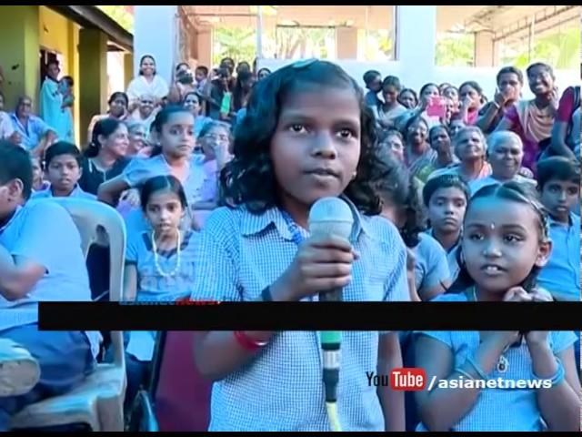 Australian writer Jackie Mansourian visit Perumkulam primary school