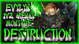 Legion - 7.2.5 Arms Warrior 1v2 Arena montage - Nowhere to hide! Total DESTRUCTION! WOW 110 PVP