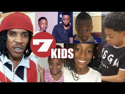 MEET Vybz Kartel 7 Children | MEET ALL The Gaza KIDS