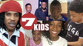 MEET Vybz Kartel 7 Children | MEET ALL The Gaza KIDS
