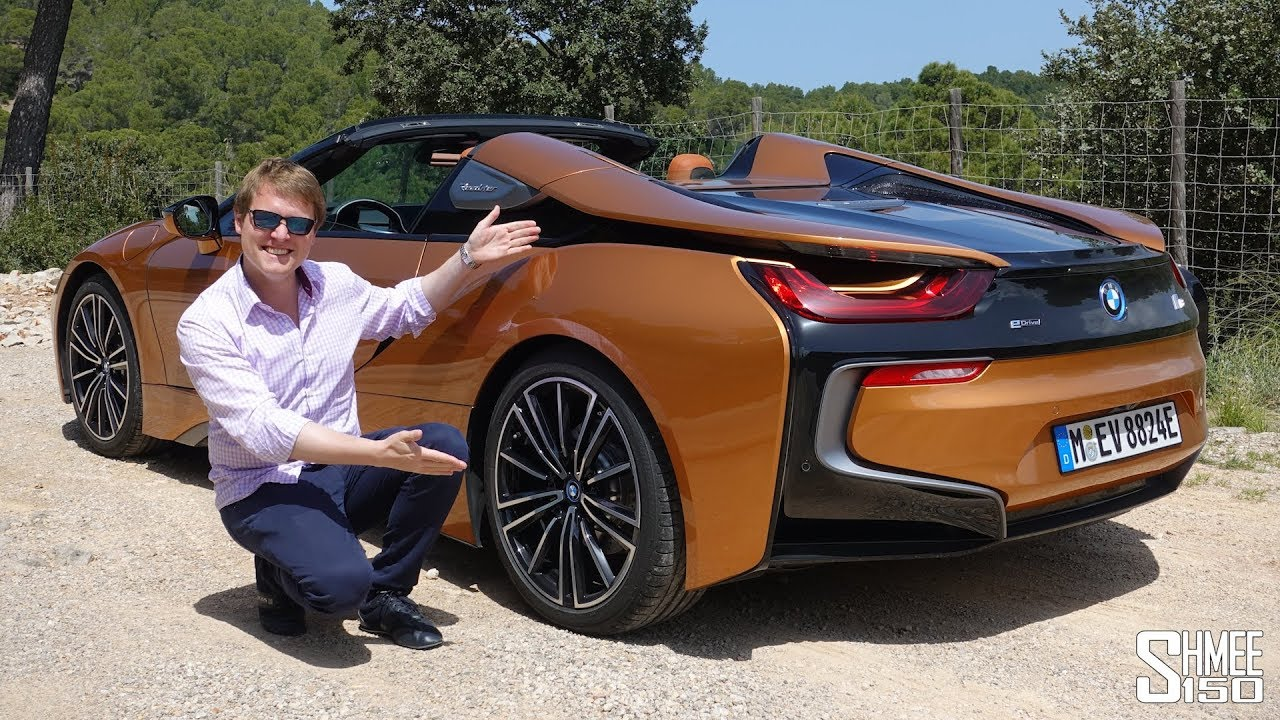THIS is the New BMW i8 Roadster! | FIRST DRIVE - YouTube