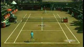 Smash Court Tennis 3 Gamplay Video (Xbox 360)