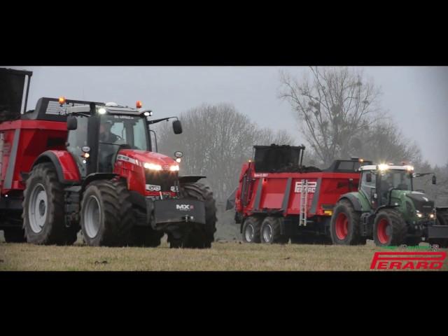 Epandeurs Perard Optium CL200-T | Massey 8730 & Fendt 927 Vario !