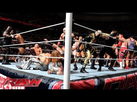 United States Championship 20-Man Battle Royal: Raw, May 5, 2014