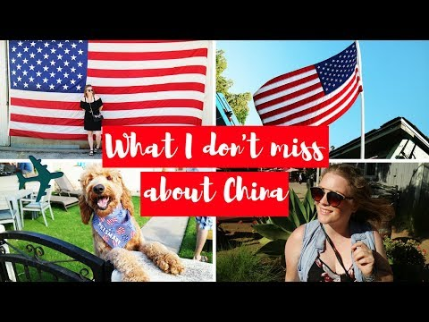 WHAT I DON'T MISS FROM CHINA WHEN TRAVELING IN AMERICA