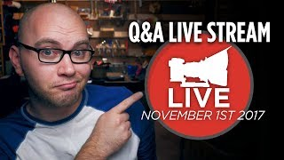 DSLR Video Shooter Live Q&A - November 1 2017