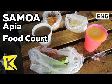 【K】Samoa Travel-Apia[사모아 여행-아피아]저렴하게 즐기는 푸드코트/Food/Cheap/Juice/Food Court