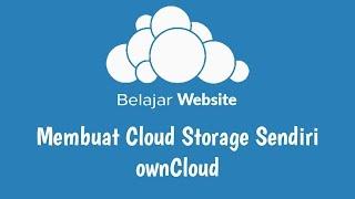 Membuat Cloud Storage Sendiri - ownCloud