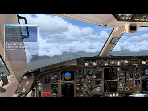 fsx Quality Wings 757 flight Tutorial, Orlando to Miami Florida, part 2 of 2