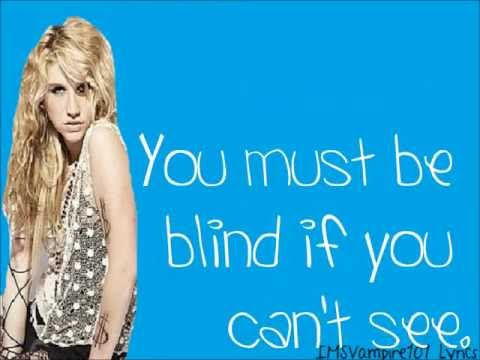 Kesha - Blind [ Lyrics ]