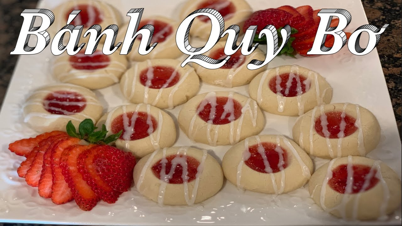 Hướng dẫn làm bánh quy bơ vị dâu tây – Strawberry Shortbread Cookies – Taylor Recipe | Cuôc sống Mỹ