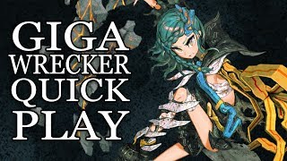 Punch Puzzles w/ Nanomachines in the Post Apoc - Giga Wrecker Quick Play