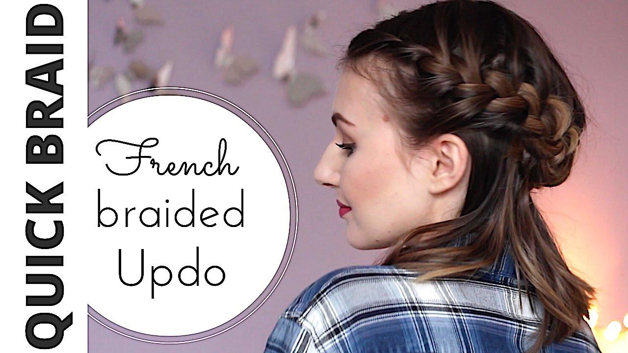 Französischer Zopf Für Anfänger Flechtfrisuren Für Kurze Haare