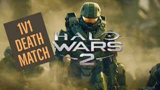 HALO WARS 2! FIRST EVER 1V1 DEATHMATCH GAME! XBOX ONE! LETS PLAY!