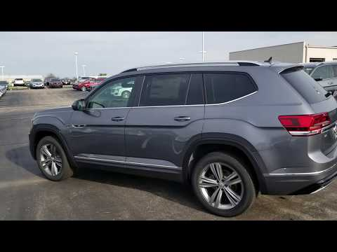 2019 VW Atlas 3.6 SE w/Technology R-Line
