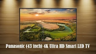 Panasonic TH-43GX600D 43 inch 4K Ultra HD Smart LED TV