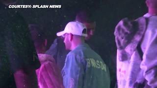 Kourtney Kardashian's PDA With BF Younes Bendjima At Coachella's Neon Carnival