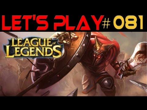 League of Legends [HD] #081 Glaive Warrior Pantheon ★ Let's Play League of Legends