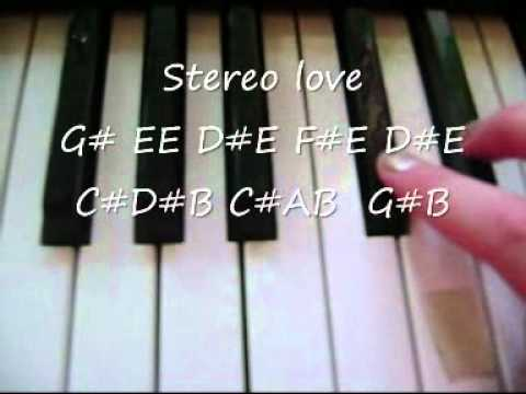 Stereo Love-Easy Piano Tutorial