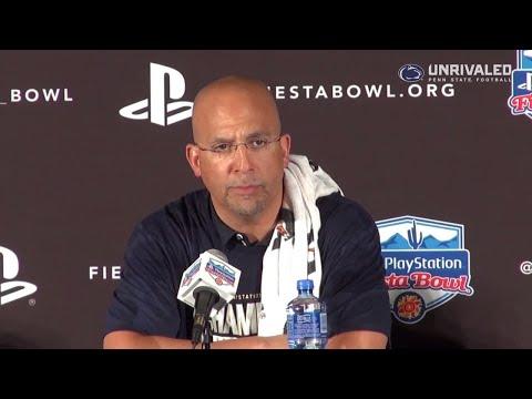 Penn State Football | Fiesta Bowl Postgame (Franklin)