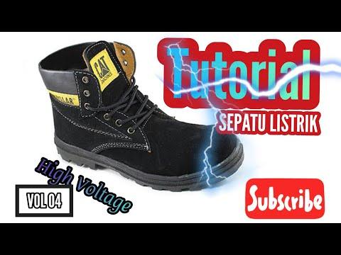 Alat Sepatu Listrik - High Voltage