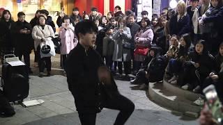 JHKTV]홍대댄스 디오비hong dae k-pop dance dob (HJ TY)mic drop