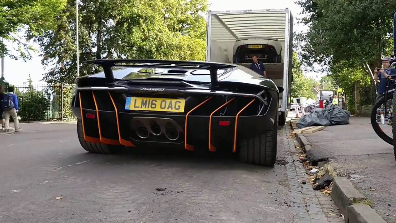 Transformers 5 Lamborghini Centenario Hot Rod Being Loaded