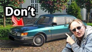 Ne jamais acheter un Saab usagé, sauf